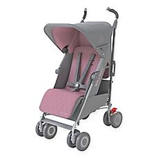 If I were rich, prego, and prego with a girl lol: Maclaren® Techno XLR Stroller in Dove/Orchid Smoke