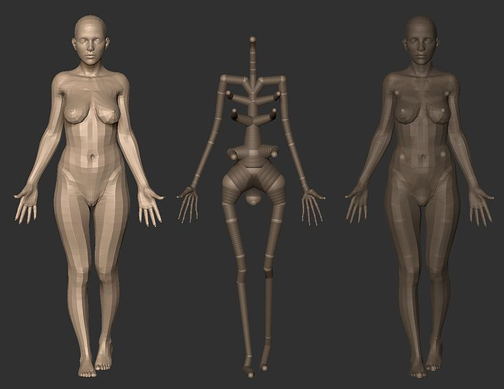 Rigging and Posing with ZSpheres. by ~screenlicker on deviantART #3d #sculpting #tutorials