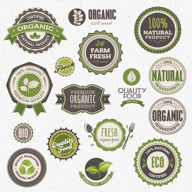 Etiqueta Retro, Proteção Ambiental, O Rótulo De Alimentos, VendaPNG e Vector