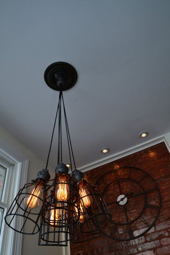 Industrial lighting etsy listing at https www etsy com