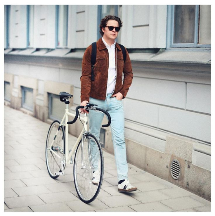 Martin Hansson in Dollar suede jacket - Rockandblue SS17