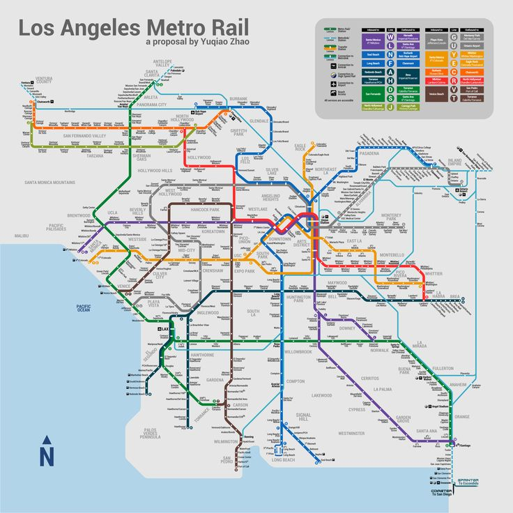 126 Best Metro Maps Images On Pinterest Map Family Activity: Los Angeles Metro Map 2017 At Infoasik.co