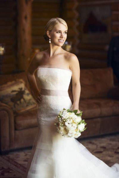 Gorgeous bride: http://www.stylemepretty.com/california-weddings/lake-tahoe-ca/2015/03/11/rustic-lake-tahoe-summer-wedding/   Photography: Catherine Hall - http://www.catherinehallstudios.com/