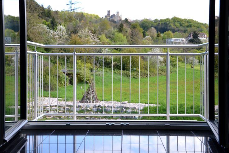 Geländer Edelstahl Balkon Schlosserei Metallbau