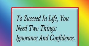 To Succeed in Life Wise Quote By Mark Twain, Success Quote in English