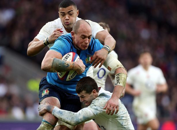 Sergio Parisse, one of the greatest rugby players on the planet right now