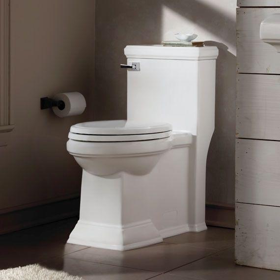 Town Square Flowise RH 1.28 GPF verlängerte einteilige Toilette (Sitz inklusive)