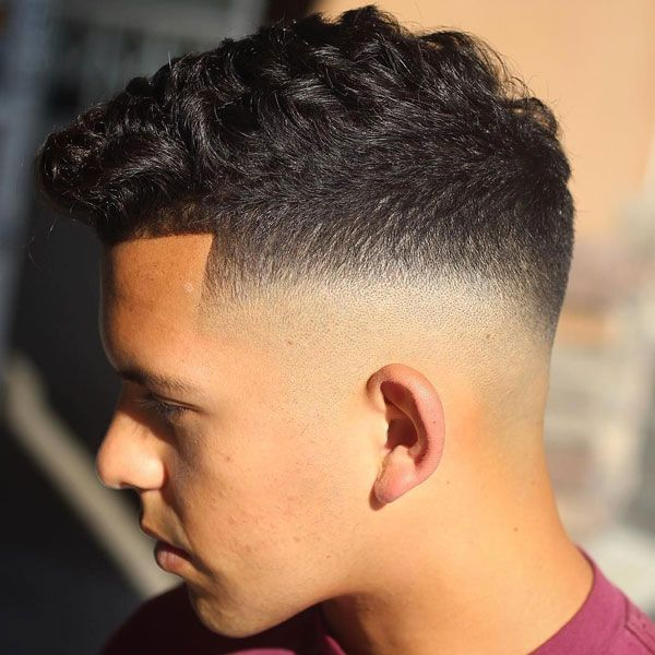 Curly Hair Fade Best Curly Taper Fade Haircuts For Men 2020 Guide Mid Fade Haircut Fade Haircut Faded Hair