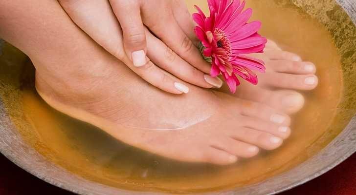 1 - Bain de pieds