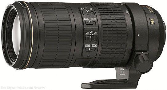 Nikon 70-200mm f/4G AF-S VR Lens.  For more images and information on camera gear please visit us at www.The-Digital-Picture.com
