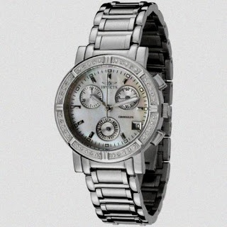 The best #watch in our list is #Invicta Women's 4718 II Collection Limited Edition Diamond Chronograph Watch.