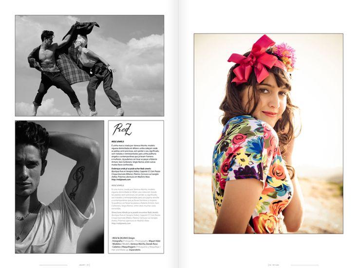 Revista Tintimám 02, Miranda estudio Vigo, Diseño de revistas, diseño editorial, diseño de catálogos, folletos, moda