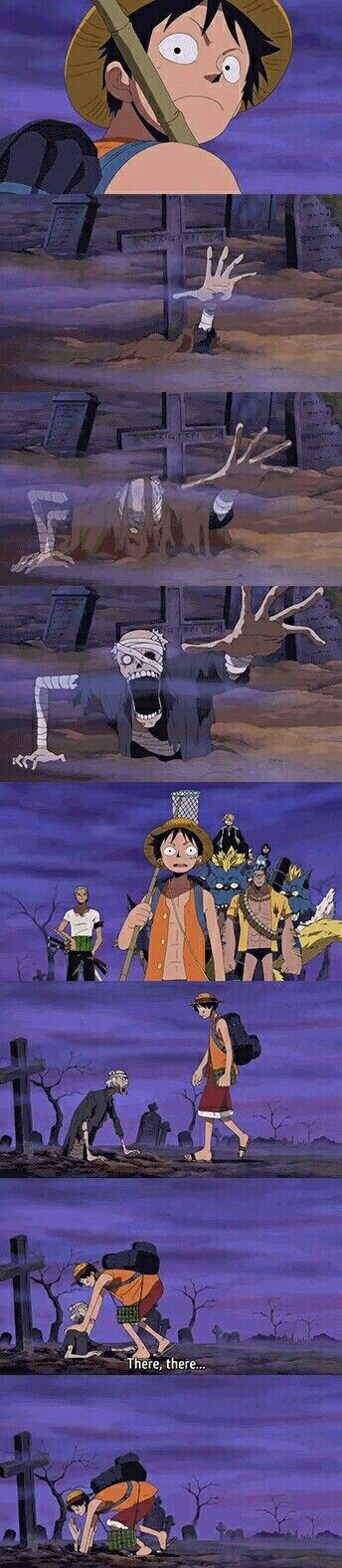 Luffy and the zombie