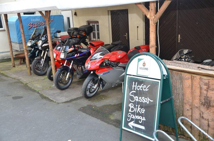 Bikes im Hotel Sassor
