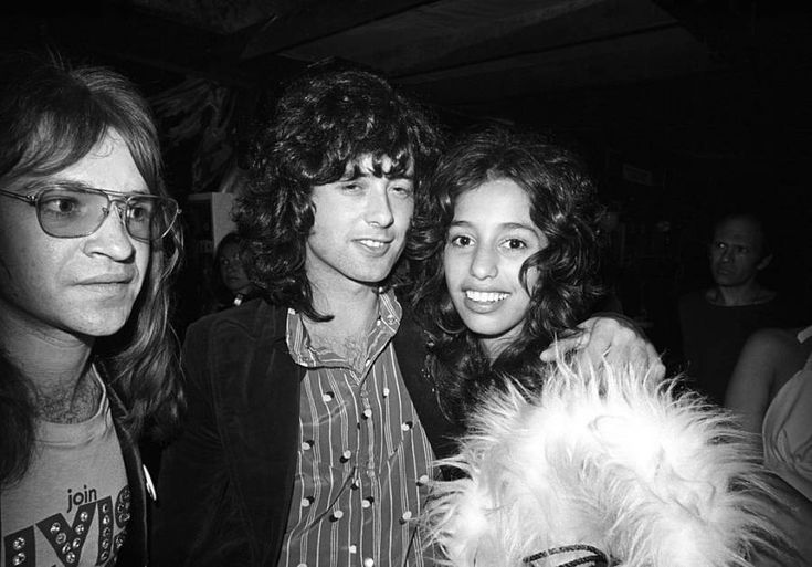 Lori Maddox     14-year-old Lori Maddox made headlines when she started dating Led Zeppelin guitarist Jimmy Page.     Page's relationship with the young girl was a scandal at the time, but he was hardly the first rocker to take an interest. Lori Maddox says she lost her virginity to David Bowie when she was even younger.     Lori Maddox with Jimmy Page. Los Angeles, California June, 1972.
