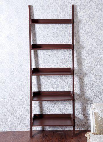 Top 8 ideas about ladders on pinterest ladder shelves for Fancy wood bookshelves
