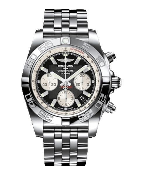 Breitling 1884 Replica Chronometre Certifie Stainless Steel Mens Watch - Replica Homage Watches for Sale