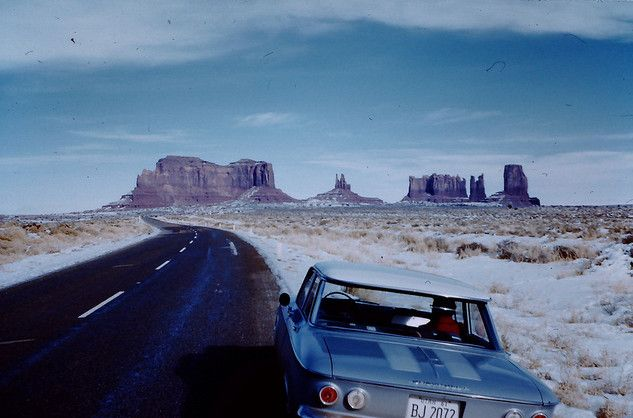 Nowhere like the open road.