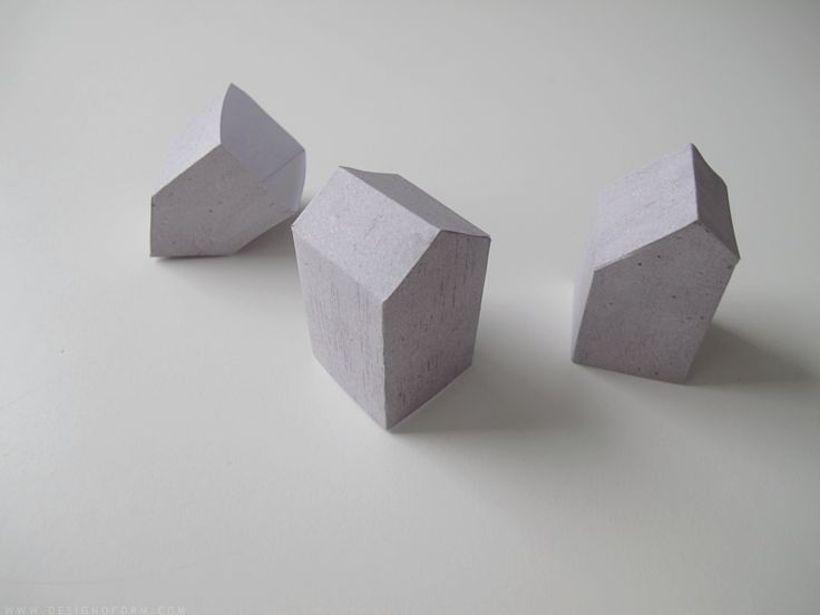 DIY paper houses ++ via design and form
