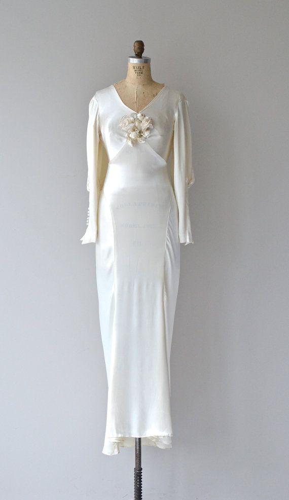 98 best 1930s wedding dresses images on Pinterest | Vintage weddings ...