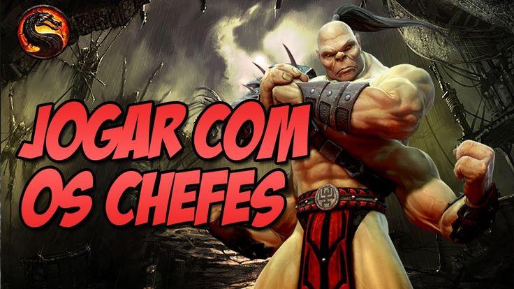 Mortal Kombat 9 PC - Jogando com os Chefes MOD BOSSES