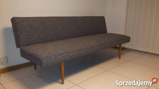 Mała sofa, kanapa, wersalka PRL, vintage, retro, lata 60 Poznań
