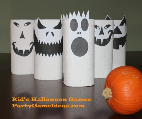halloween bowling and other fun halloween party game ideas for kids - Halloween Party At Work