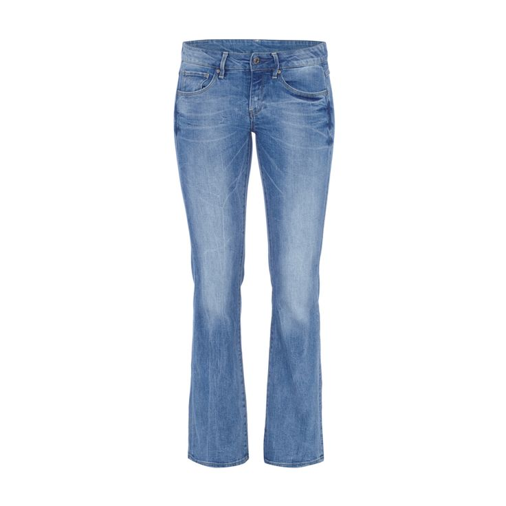 G-Star Raw Bootcut Jeans im Used Look für Damen