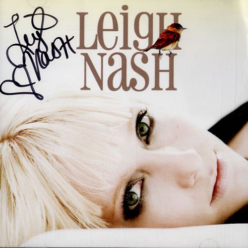 Leigh Nash Blue On Blue - Autographed 2006 USA CD album 304782: LEIGH NASH Blue On Blue (2006 US 11-track advance promotional CD for the…