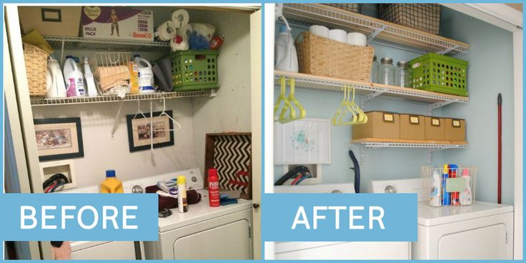 Afters That Will Give You Chills Is there anything more satisfying than an ultra-tidy closet, pantry, or laundry room? - Good Housekeeping