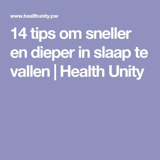 14 tips om sneller en dieper in slaap te vallen | Health Unity