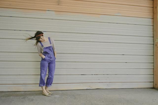 overalls & stripes