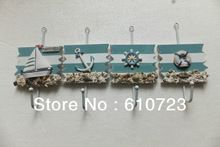 whole sales,Marine series of Mediterranean style household clothes hook wall hook adornment small hooks(China (Mainland))