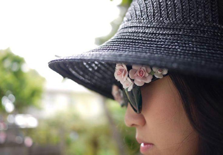 Cute floral #sunglasses #trends
