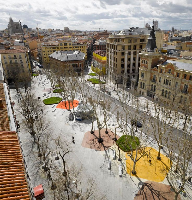 "enochliew: "" Santa Bárbara Square by Nieto Sobejano It is part of a larger-scale operation aimed at transforming a dense central area of Madrid. """