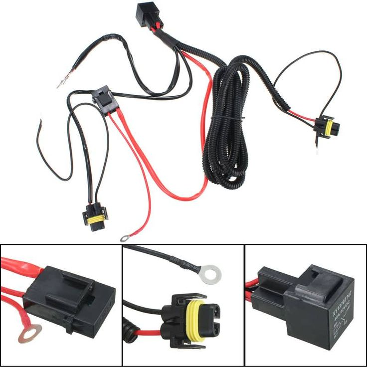 H11 880 Relay Wiring Harness For HID Conversion Kit Add-On Fog Lights LED DRL  Worldwide delivery. Original best quality product for 70% of it's real price. Buying this product is extra profitable, because we have good production source. 1 day products dispatch from warehouse. Fast &...