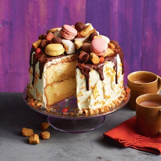 Zin in een heerlijk avondje! Sinterklaastaart #sinterklaas #sint #taart