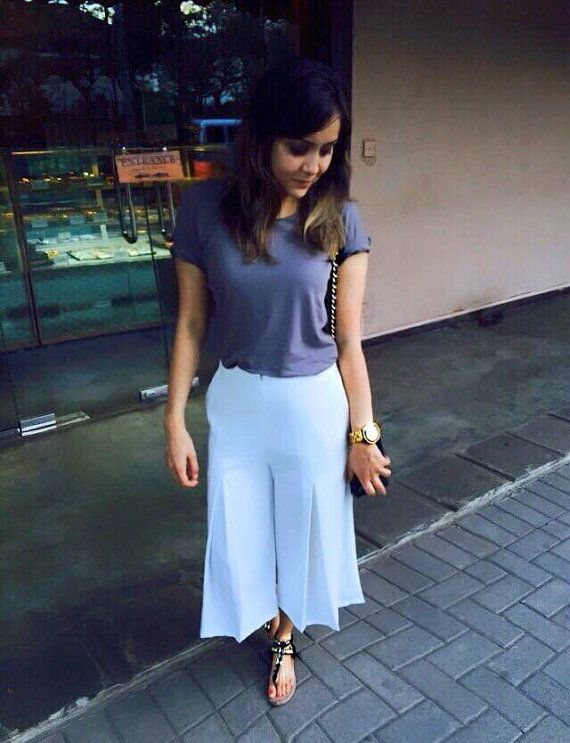 NuKi Twiggy Culotte Pants  by ShopNuKi on Etsy