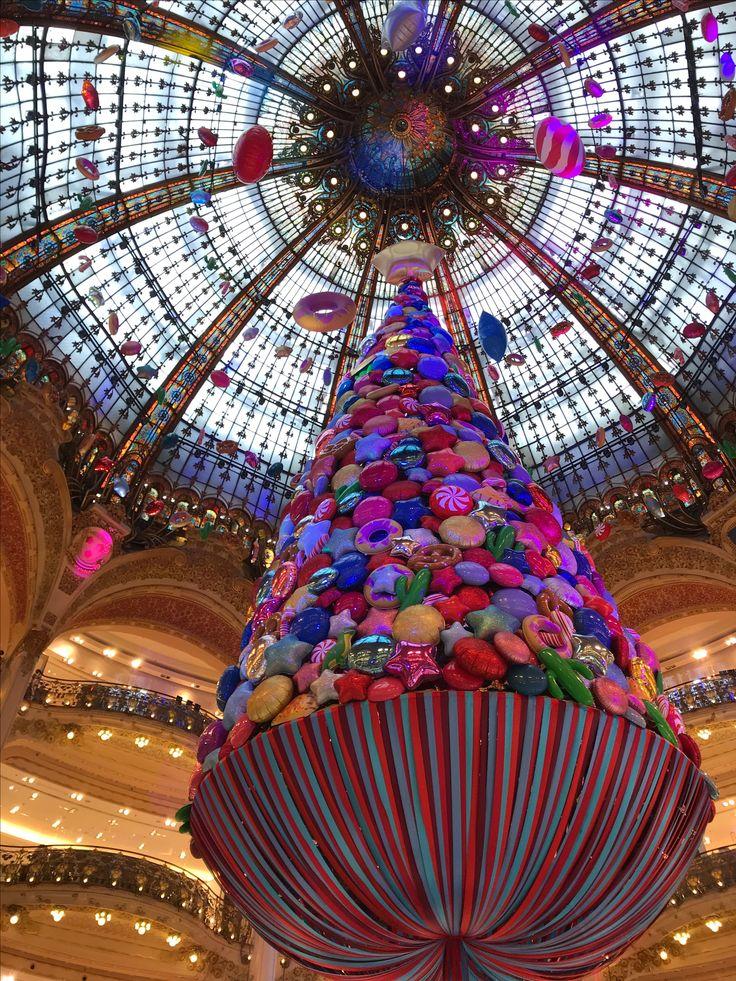 Natal nas galerias Lafayette, Paris, Novembro 2017 #natal2017 #viajar #europa