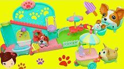 piñata de shopkins con juguetes sorpresa - frozen twozies animal jam mlp num noms - YouTube