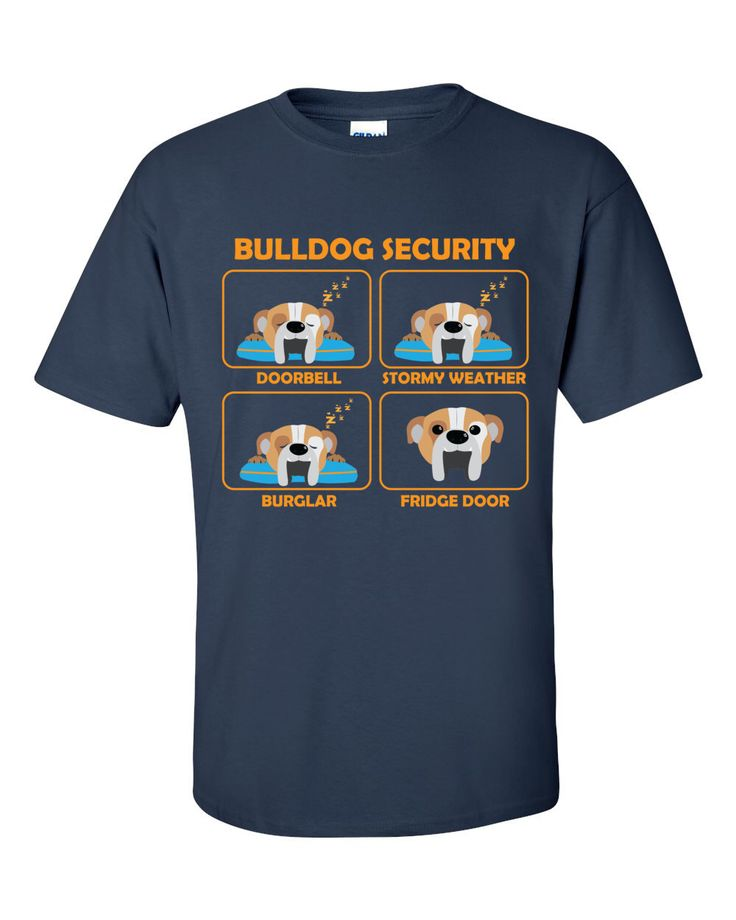 English Bulldog - English Bulldog  Security | A fantastic gift for all English Bulldog owners | Father's Day Gift by ToonTycoon on Etsy https://www.etsy.com/listing/278841384/english-bulldog-english-bulldog-security