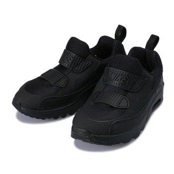 キッズ NIKE(ナイキ) 17-22AIRMAX TINY 90 (PS) ナイキ エア マックス タイニー 90 PS 881927-001 001BLACK/BLACK