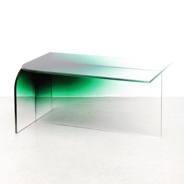 DESIGN Crush: Ombre Glass Coffee Table By Germans Ermics. Gradients Of  Color Are Added