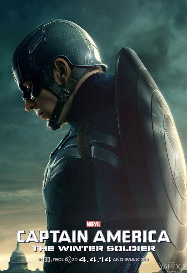 'Captain America 2' Poster -- Chris Evans as Captain America