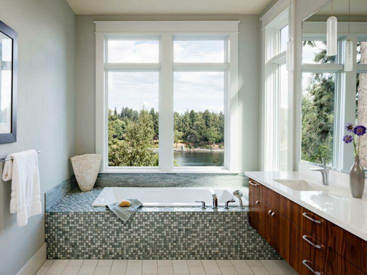 117 best baños images on Pinterest Bathroom, Half bathrooms and
