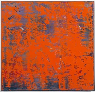 Gerhard Richter...awesome process of layering and scraping paint