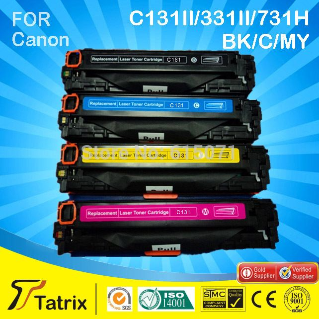 C131/331/731 toner cartridge compatible for Canon toner cartridge C131/331/731 cartridge with 1:1 replacement, free shipping