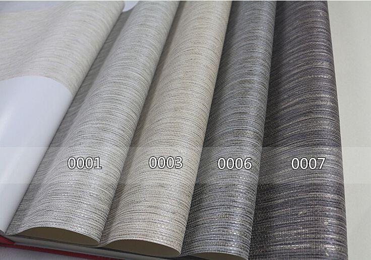 Faux Woven Textured Natural Grasscloth Wallpaper Cream Silver Grey Stripe Linen Vinyl Wallpaper Designer Grass Cloth Wallpaper