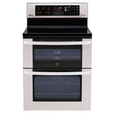 LG 6.7 cu.Ft. Double Oven Electric Range with Infrared Grill - Stainless Steel - Sears | Sears Canada