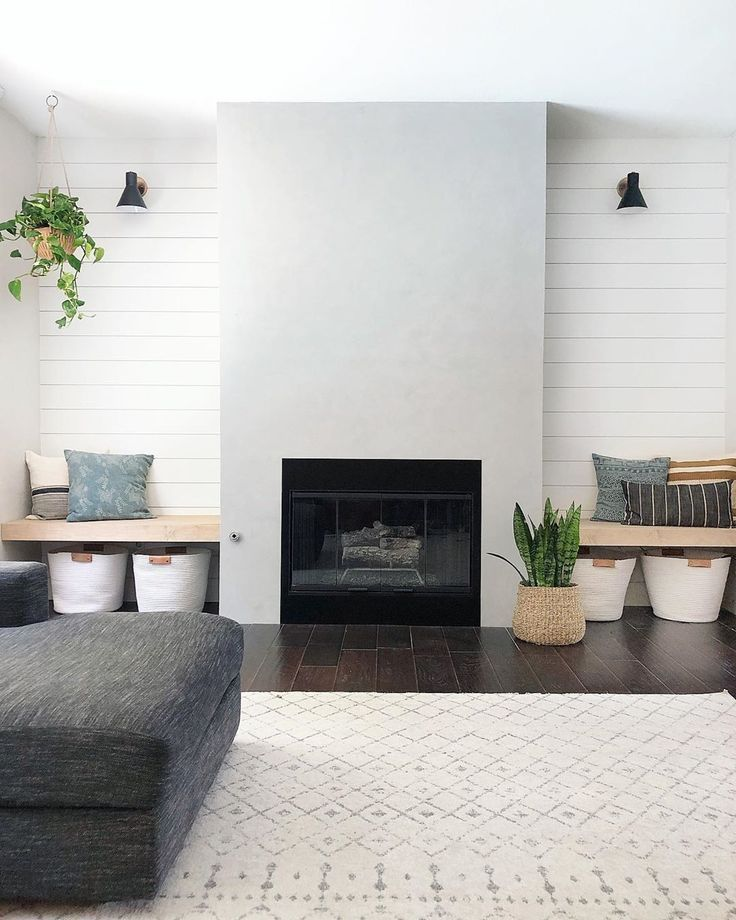 See This Fireplace Go From Plain To Pretty After A Makeover For